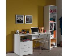 Möbelset für Jugendzimmer mit Schreibtisch (2-teilig)