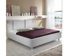 Doppelbett mit Stoffbezug modern