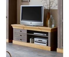 TV Regal aus Kiefer Massivholz Landhausstil