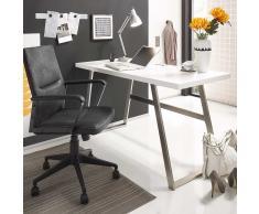 Schreibtisch in Weiß 140 cm breit