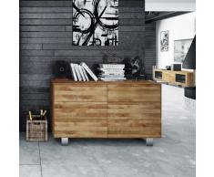Sideboard miit Schubladen Wildeiche Massivholz