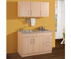 Miniküche mit Herd 2 Kochplatten (3-teilig)