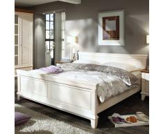Landhaus-Bett in Weiß