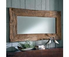 Spiegel mit Rahmen Teak Altholz