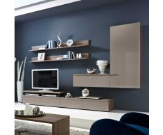 pin ii wohnwand anbauwand tv wand schrankwand regalwand. Black Bedroom Furniture Sets. Home Design Ideas