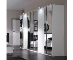 Drehtürenschrank mit Spiegel 270 cm breit
