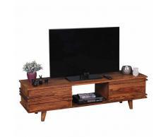 TV Tisch aus Sheesham Massivholz 145 cm