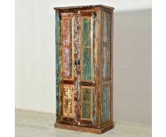 Flurschrank mit 2 Türen Shabby Chic Design