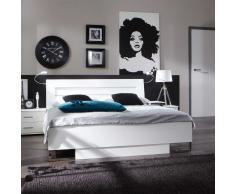 Doppelbett in Weiß 180x200