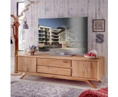 TV Sideboard aus Wildeiche Massivholz 180 cm