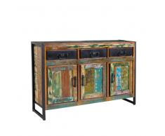 Shabby Sideboard in Bunt Recyclingholz