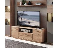 TV Lowboard aus Wildeiche massiv 150 cm