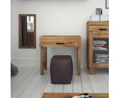 Konsolentisch aus Wildeiche Massivholz 80 cm