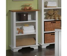 Regal für Babyzimmer Weiß Kiefer