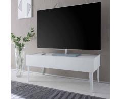 TV Tisch in Weiß modern