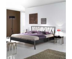Designerbett aus Metall modern