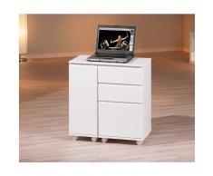 Schreibtischcontainer in Weiß Büro