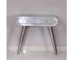 Konsolentisch mit Aluminium beschlagen Industry Style