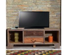 TV Lowboard im Loft Style Holz