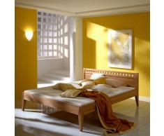 Bett aus Buche Massivholz geölt