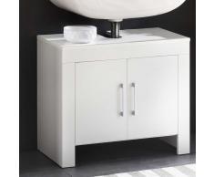 Waschtischunterschrank in Weiß 65 cm