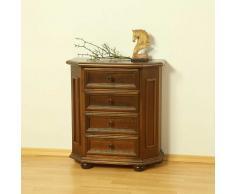Telefontisch aus Nussbaum Antik Italienisches Design