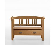 Massivholz Sitzbank aus Kiefer geölt Landhausstil