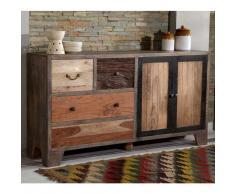 Design Sideboard aus altem Holz Landhaus