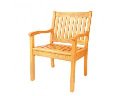 Stuhl aus Massivholz Garten