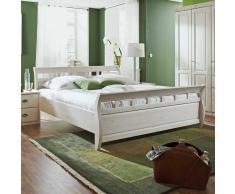 Massivholz-Bett aus Kiefer Massivholz