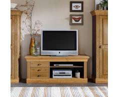 TV Lowboard aus Kiefer Massivholz Landhaus Design