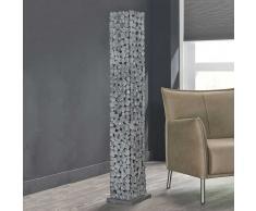 Stehlampe aus Stahlplatten Industry Look