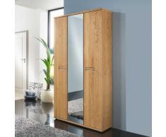 Garderobenschrank aus Wildeiche Spiegeltür