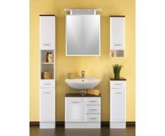 Badezimmer Set in Weiß (4-teilig)