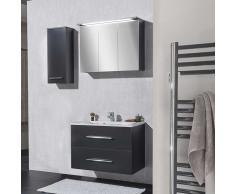 Badezimmer Kombination in Anthrazit kaufen (3-teilig)