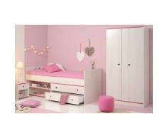 Möbelset für Kinderzimmer mit Stauraumbett (3-teilig)