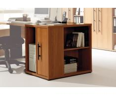 Bürocontainer in Kirschbaumfarben