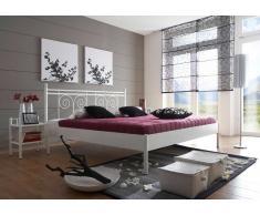 Futonbett aus Metall Landhaus Design