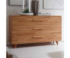 Schlafzimmer Sideboard aus Kernbuche Massivholz Schubladen