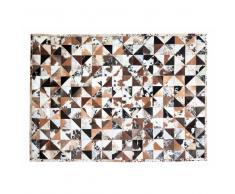 Teppich aus Fell Patchwork