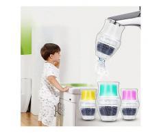 Wasserhahn Wasserfilter Aktivkohle Home Küche Wasserhahn Leitungswasser Reinigen Reiniger Filterpatrone-Water Fliters