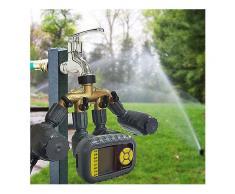Programmierbare Bewässerungs-Timer-Bewässerungs-automatischer Prüfer-einzelner Ausgang für Garten-Hahn-Schlauch -Bewässerungsuhr Zubehör