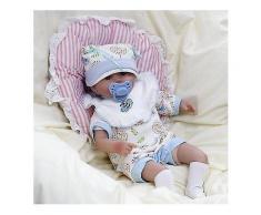 14 #39; #39; handgemachte realistische Silikon Reborn Baby Puppen lebensechte Neugeborenen Spielzeug Geschenk-Puppen