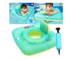 Baby-aufblasbarer Swimmingpool schwimmt Schwimmen-Fahrt-Ring-Sicherheits-Stuhl-Floss-Strand-Spielzeug-Swimming Supplies