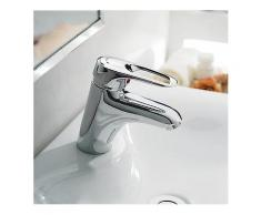 FRAP F1004 Wasserhahn Becken Bronze Körper Warm und Kalt Wasser Mixer Kupferschlauch Chrom Bad Wasserhahn-Badezimmer-Wasserhahn
