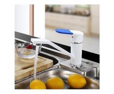 FRAP nbsp;F4534 nbsp;Küchenarmatur nbsp;Kalt-und nbsp;Warmwasser-Mixer nbsp;360 Rotierende Multi Farboptionen Faustabdeckung als Geschenk-Küche-Wasserhahn