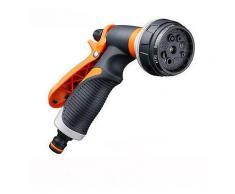 Garten Wasserpistole Bewässerungsschlauch Nozzle Sprayer 8 Muster Einstellbare Reinigung Auto Waschen Sprinkler-Regner