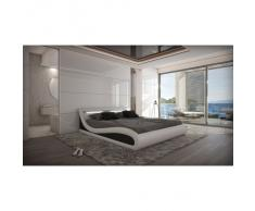 Design Polsterbett CASERTA LED