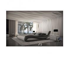 Design Komplettbett APRILIA + Matratze + Lattenrost