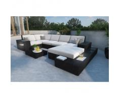 Rattan Sofa Lounge Set MESSANA